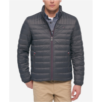Tommy Hilfiger Men's 'Down quilted packable logo' Jacket
