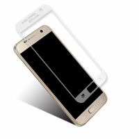Bluteck Tempered glass protection for Samsung Galaxy S7 with transparent edges