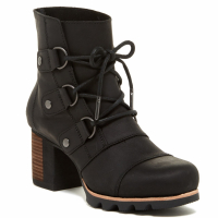Sorel Women's 'Addington Waterproof Lace-Up' Heel Booties