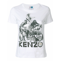 Kenzo 'Animal Kingdom Print' T-Shirt für Damen