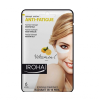 Iroha Nature 'Anti-Ermüdung' Hydrogel Augenpatches - 3 x 6 Nutzungens