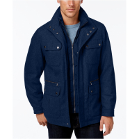 MICHAEL Michael Kors Manteau 'Wool-Blend Field with Attached Bib' pour hommes