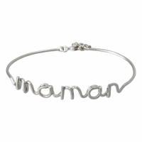 Bijoux à messages 'Maman' Bracelet