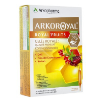 Arkopharma Arkoroyalroyal  Fruits 20 Phials