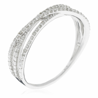 Diamantini Women's 'Entrelacs Pétillant' Ring