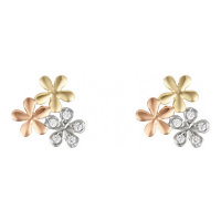 Or Bella 'Minis Fleurs' Earrings