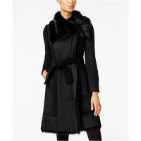 Vince Camuto Women's 'Mixed-Media' Coat