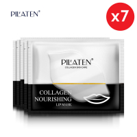 Pil'aten Gold Collagen Lip Mask 7x