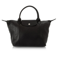Longchamp 'Le Pliage Cuir' Small Handbag