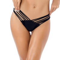 Relleciga Women's 'Thong' Shell design Bikini Bottom