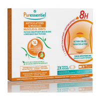 Puressentiel Joints Heating Patches with 14 Essential Oils - 2 Patches