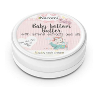 Nacomi Baby bottom butter - Nappy rash cream- from the first day of life - 100 ml