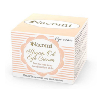 Nacomi Argan Oil Eye Cream with grape seed oil - 15 ml