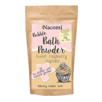 Nacomi Bath Powder - Sweet Raspberry Cupcake - 100 g