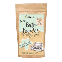 Nacomi Bath Powder - Refreshing Green Tea - 100 g