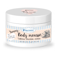 Nacomi Body Mousse - Delicious chocolate cookie - 180 ml