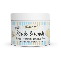 Nacomi 'Sweet Coconut-Banana' Body Scrub - 180 ml