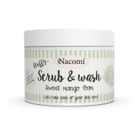 Nacomi Fluffy Scrub & Wash - Sweet  Mango Foam - 180 ml