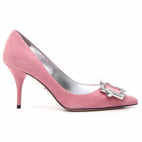 Prada Women's 'Crystal Buckle' Pumps