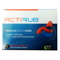 Santé Verte Acti'Rub - Throat lozenges