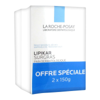La Roche-Posay Set of 2 - LIPIKAR Surgras Bar 2x150 g