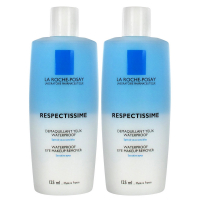 La Roche-Posay Set von 2 - Respectissime Augen-Make-up 2x125 ml