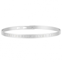 Bijoux à messages 'Friendship Never Ends' Bracelet