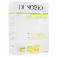 Oenobiol Detox Express Elderberry and Dragon Fruit 10 Sticks