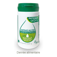 Phytosun Arôms Neutral tablets for the absorption of Essential Oils - 45 tablets 45 gr