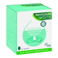 Phytosun Arôms Aromadoses Digestion transit - Case of 30 soft capsules