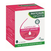 Phytosun Arôms Aromadoses Urinary comfort - Case of 30 soft capsules