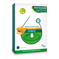 Phytosun Arôms Honey flavored sugar free pastilles - Box of 24 lozenges