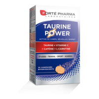 Forté Pharma Energy Taurin Power- 30 Tabletten eff
