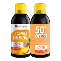 Forté Pharma Turbodraine lot  - Ananas- 2 x 500 ml