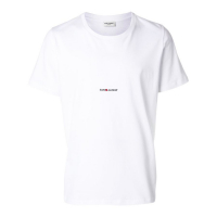 Saint Laurent Small Logo' T-Shirt für Herren