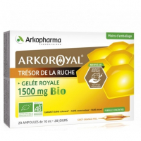 Arkopharma ArkoRoyal Royal Jelly 1500 mg Bio 20 Bulbs