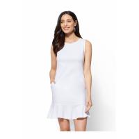 New York & Company 'Flounced Hem Flare' Kleid für Damen