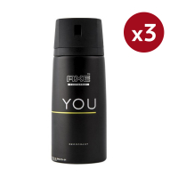 Axe You Deodorant Vapo - 150 ml - Pack of 3