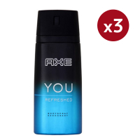Axe 'You Refreshed' Deodorant Spray - 150 ml - Pack of 3