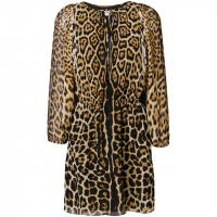 Saint Laurent Women's 'Leopard' Dress