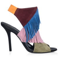 Roger Vivier Women's 'Fringes' High Heel Sandals