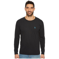 Kenneth Cole U.S. Polo Assn - Men's 'Casual' Cotton Long-sleeve T-Shirt