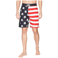 U.S. POLO ASSN. Men's 'American Flag' Swimming Trunks