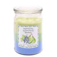 Candle-Lite 'Sugared Lime, Passion Pear & Blueberry' Duftende Kerze - 538 g