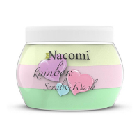 Nacomi Rainbow scrub & wash body foam - 200 ml