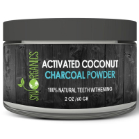 Sky Organics Activated Coconut Charcoal Natural Teeth Whitening Powder