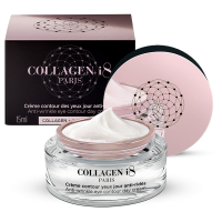Collagen I8 Anti-wrinkle eye contour day cream - Collagen + black tea - 15ml