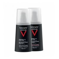 Vichy Pack of 2 sprühen  Spray Deodorant - 2x100ml