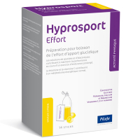 Pileje Hyprosport Effort Lemon Flavor - 14 Units