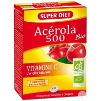 Superdiet Acerola Bio 500 12 Tabletten